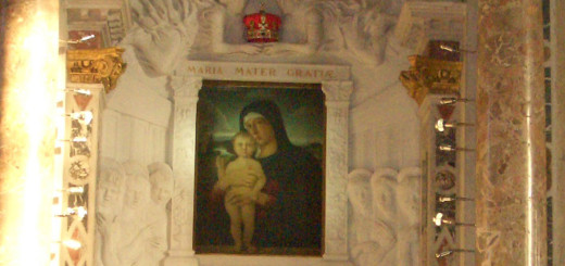 altare madonna per preghiere copia