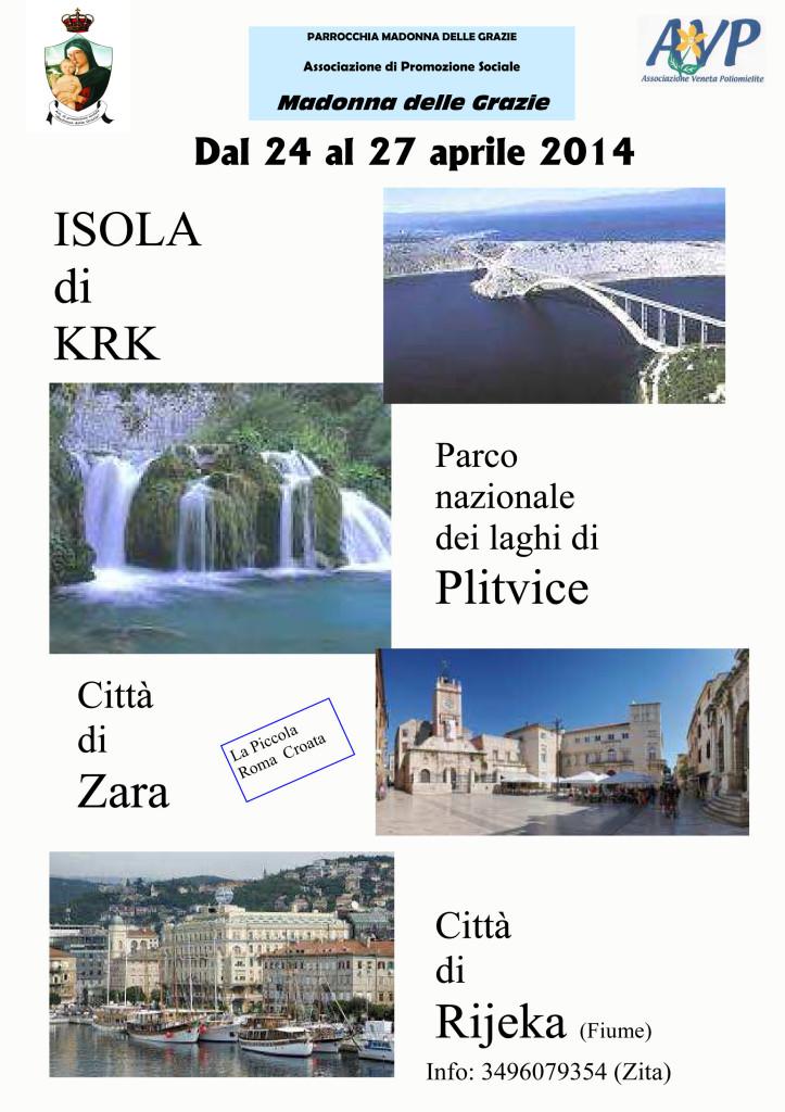 LOCANDINA gita in croazia